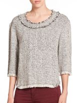 IRO Bardy Tweed Top