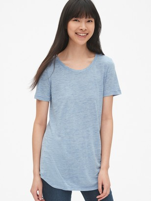 Gap Relaxed Crewneck T-Shirt in Luxe Jersey