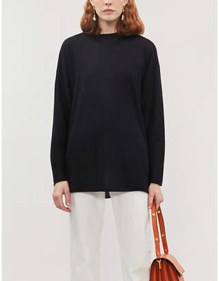 Joseph Cashair oversized cashmere knitted T-shirt