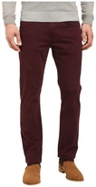 7 For All Mankind The Straight Luxe Performance Sateen in Eggplant