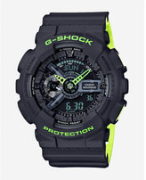 Express G-shock Layered Neon Green Watch