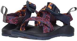 Chaco Z1 Ecotread (Toddler/Little Kid/Big Kid) (Vacio Navy) Girls Shoes