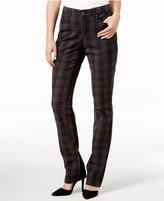 Charter Club Petite Lexington Plaid Straight-Leg Pants, Only at Macy's
