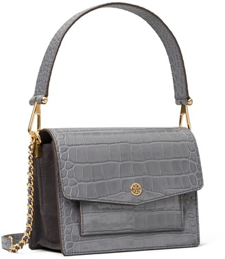 Tory Burch ROBINSON EMBOSSED SHOULDER BAG
