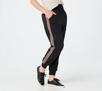 Bishop + Young Petite Designer Stripe Jogger Pants