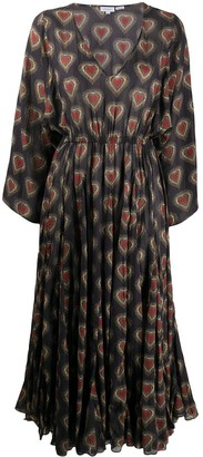 Rhode Resort Emily heart print dress