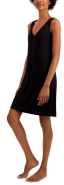 Alfani V-Neck Chemise Nightgown, Created for Macy's