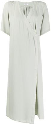 Filippa K Amalia wrap midi dress