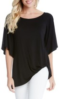 Karen Kane Women's Split Sleeve Top