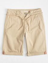 Dickies Flex Stretch Skinny Boys Khaki Chino Shorts