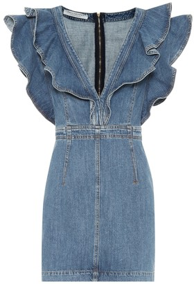 Philosophy di Lorenzo Serafini Denim minidress