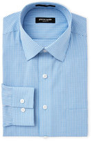 Pierre Cardin Blue & White Slim Fit Dress Shirt