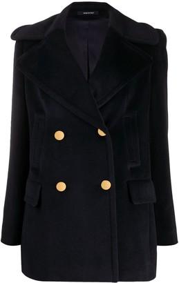 Tagliatore Double-Breasted Blazer Coat