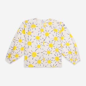 Bobo Choses Sun Shirt - organic cotton | yellow | XS - Yellow/Yellow