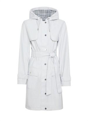 Dorothy Perkins Womens Grey Raincoat Mac, Grey