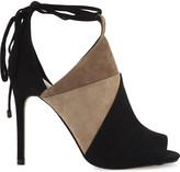 Aldo Saraa suede heeled sandals