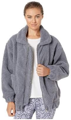 Onzie Teddy Jacket (Black) Women's Coat