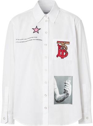 Burberry Shakespeare Monogram shirt