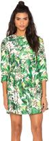 Blaque Label Long Sleeve Print Dress