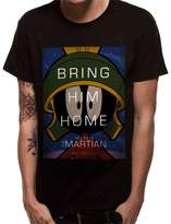 Looney Tunes Official Men's Marvin the Martian Home T-Shirt - Crew Neck