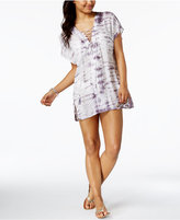 Raviya Lace-Up Tie-Dyed Tunic