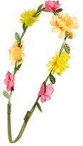 Capelli of New York 'Floral Garland' Head Wrap (Girls)