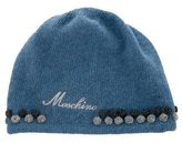 Moschino Knit Logo-Embroidered Beanie