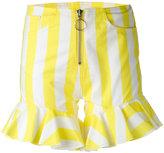 Marques Almeida Marques'almeida - flared cuff shorts - women - Cotton - 8
