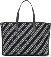 Givenchy Blue Medium Bond Shopper Tote