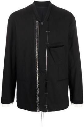 Haider Ackermann Metal-Embellished Jacket