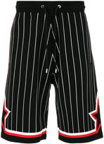 Givenchy striped jersey baseball bermuda shorts
