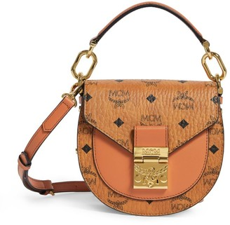 MCM Small Visetos Patricia Shoulder Bag