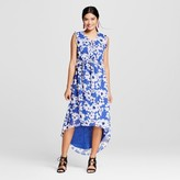 Merona Women's Floral Ruffle Maxi Dress