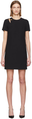 Versace Black Safety Pin Dress