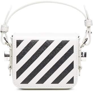 Off-White Striped Crossbody Bag