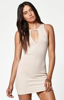 KENDALL + KYLIE Kendall & Kylie Skinny Collar Bodycon Dress