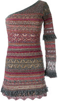 Cecilia Prado knit dress - women - Cotton/Acrylic/Lurex/Polyester - P