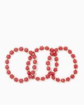 Charming charlie Bold Cubes Bracelet Set