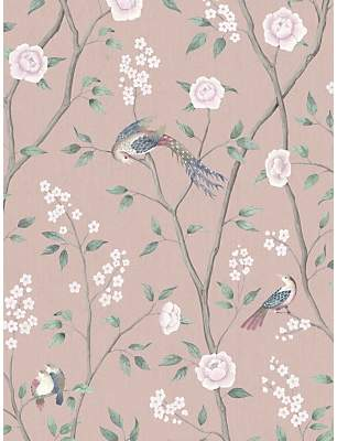 Boråstapeter Paradise Birds Wallpaper