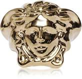 Versace Light Gold Metal Medusa Ring
