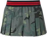 The Upside camouflage skorts - women - Spandex/Elastane - XXS