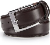 Daniel Cremieux Double-Row Stitch Leather Belt