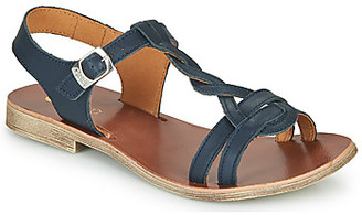 GBB EUGENA girls's Sandals in Blue