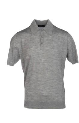 Prada Button-Up Polo Shirt