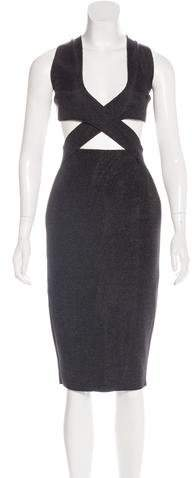 Dion Lee Cutout Sheath Dress