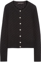 Marc Jacobs Cashmere Cardigan - Black