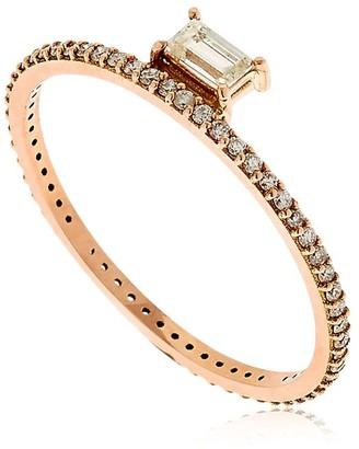 Sarah Noor Baby Baguette Ring
