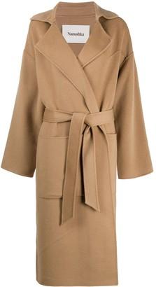 Nanushka Wrap Style Coat