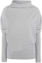 Norma Kamali Convertible stretch-cotton jersey top