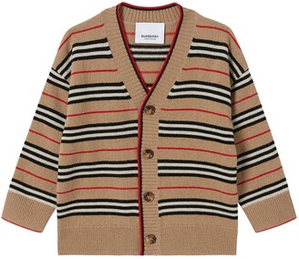 Burberry Wool & Cashmere Blend Knit Cardigan